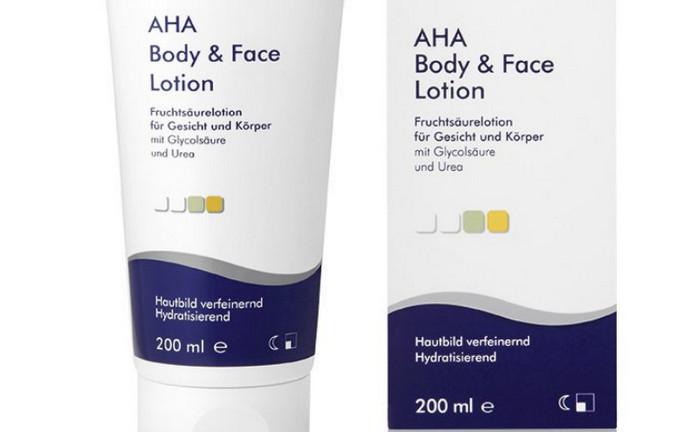 AHA Body & Face Lotion