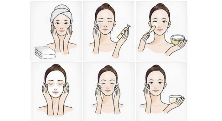 Инструкция по нанесению маски