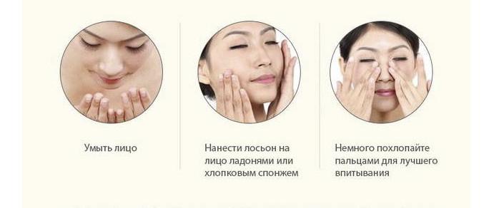 Как наносить лосьон для лица